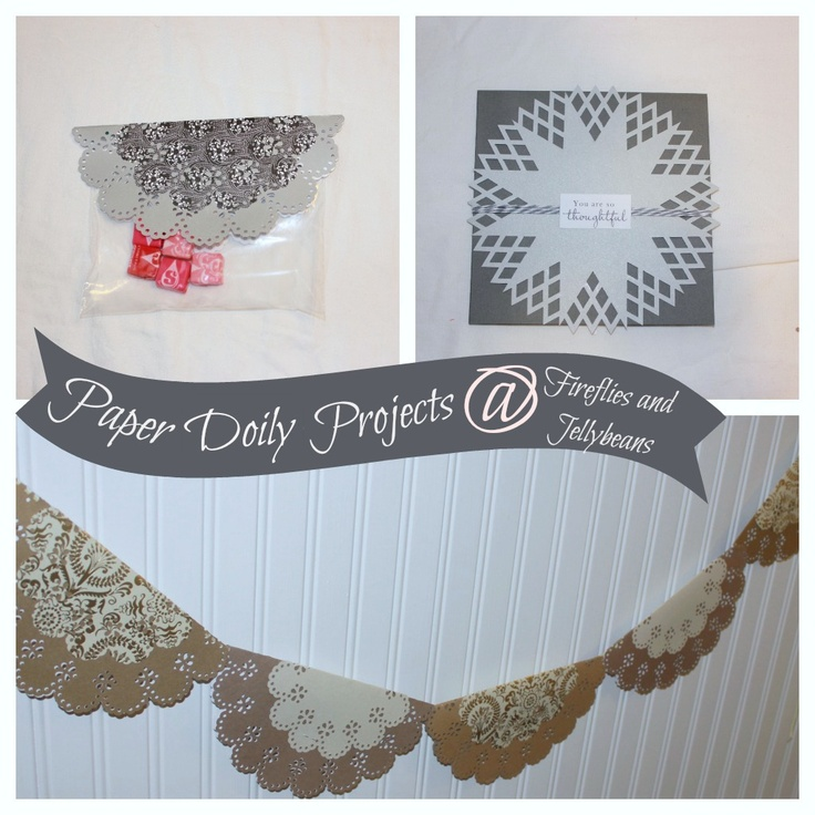 47 best crafts paper doilies images on pinterest paper doilies fireflies and jellybeans paper doily crafts with martha stewart crafts 12monthsofmartha solutioingenieria Image collections