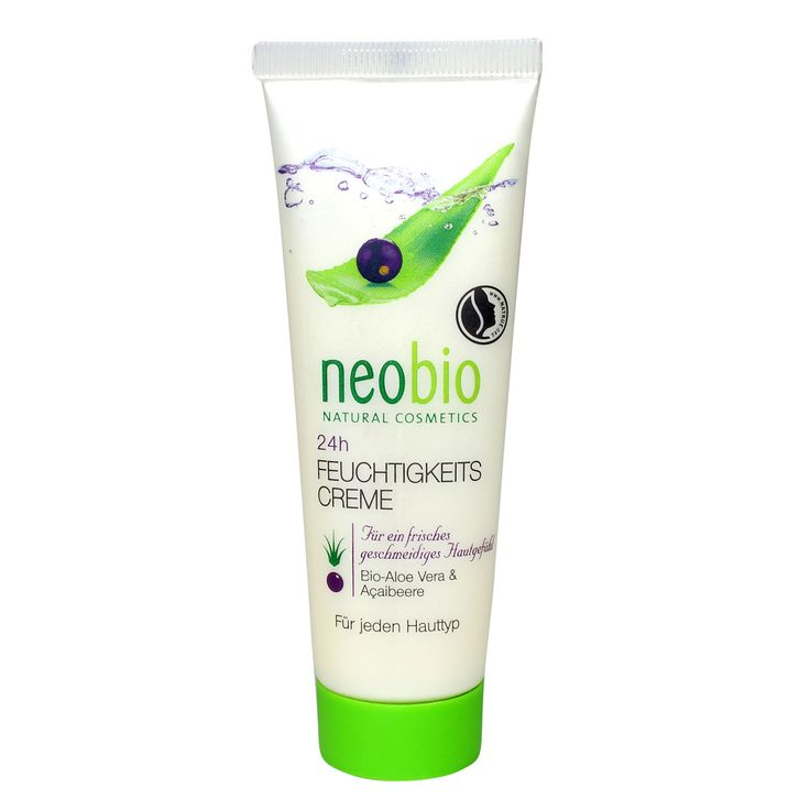Neobio hydraterende crème 24u is een lichte dag- en nachtverzorging voor de droge en gevoelige huid. De formule met shea boter, acai en aloe vera beschermt