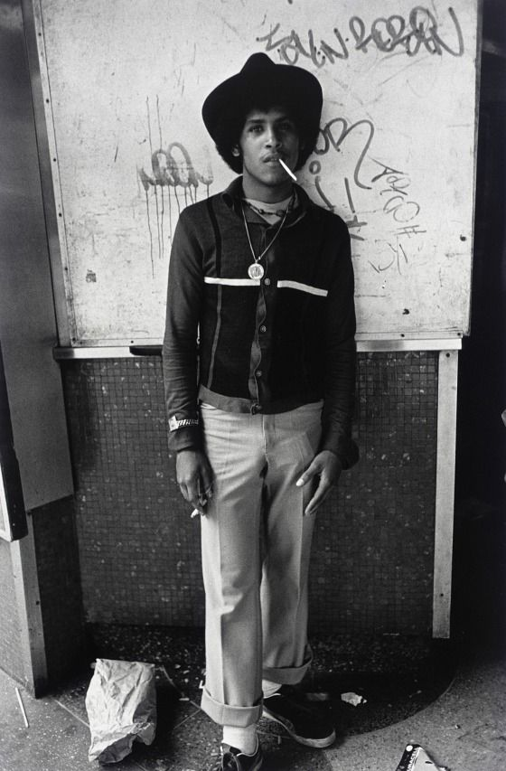Larry Clark (United States, born 1943) - boy with hat, 1981