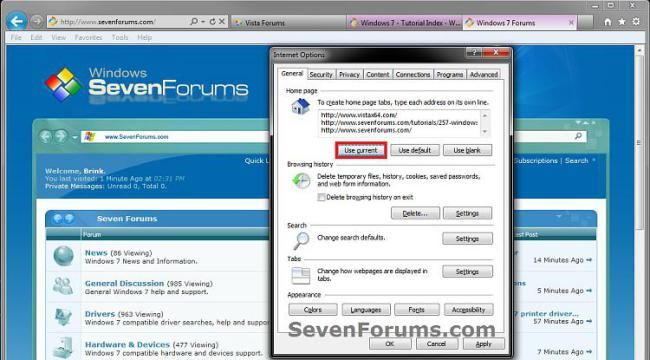 Internet Explorer Home Page – Add or Change – Windows 7 Help Forums #low #cost #high #speed #internet http://internet.remmont.com/internet-explorer-home-page-add-or-change-windows-7-help-forums-low-cost-high-speed-internet/  Windows 7: Internet Explorer Home Page – Add or Change Add or Change Home Page(s) for Internet Explorer Using Internet Options 3.To Use the Webpage(s) in your Currently Opened Tab(s) as Home Page(s)NOTE:This will replace your current home page(s) with the webpage address…