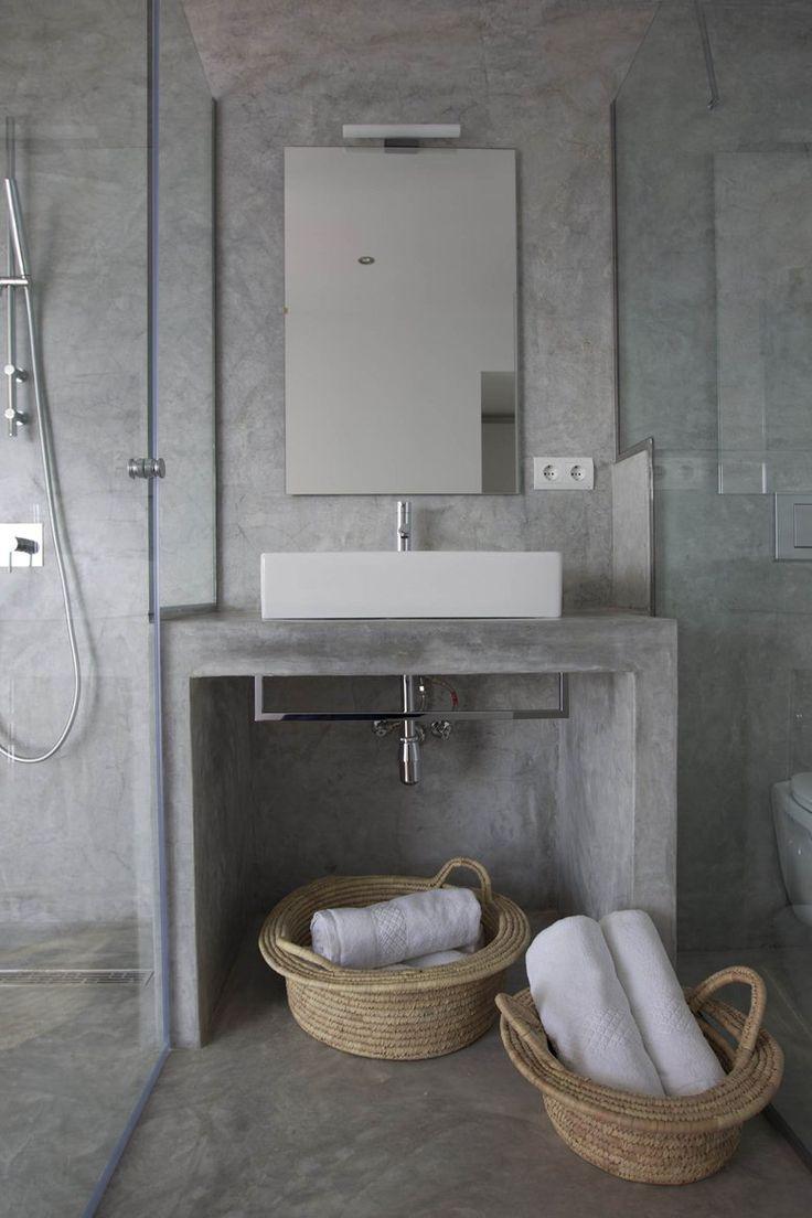 Bathroom vanity inspirations by edone design - Can Mo Islas Baleares 2011 Atlant Del Vent