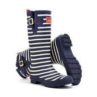 Joules Striped Wellies