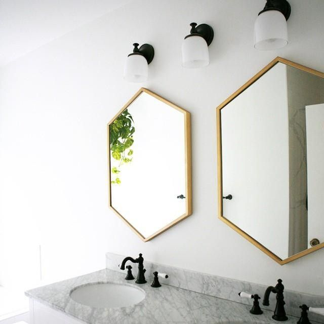 17 Best images about design objects – Brass Bathroom Mirror