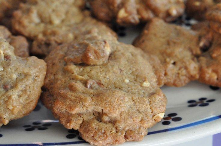 Et fad knasende sprøde Marabou cookies klar på ingen tid? Under en halv time fra start til en sprød cookie i din hånd. Smør-og farinbagte...Mmmm Marabou :-)