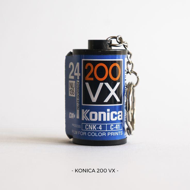 KONICA 200 VX | 35mm film photography | keychain