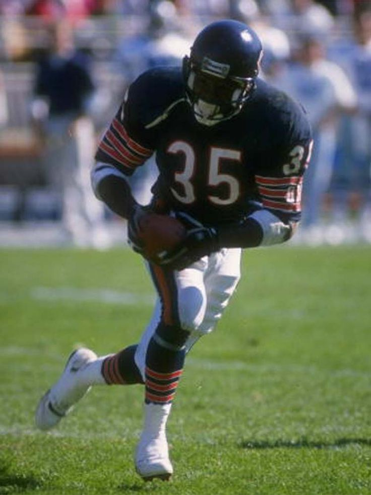 Neal Anderson —A seriously underrated back. It's not his fault he had to follow Walter Payton ...