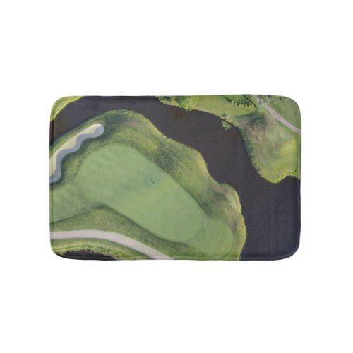 Golf Green Bath Mat - Turtleback Green