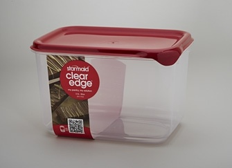 Clear Edge Medium 2.5L - Storage solution for food. Freezer, microwave and top rack dishwasher safe