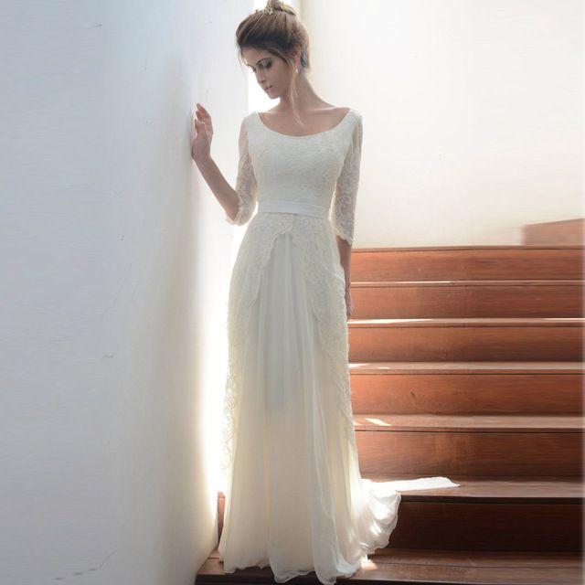 ... Robes de mariée à manches, Robes de mariée à manches et Robes de