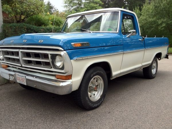 1971 FORD F100 SHORT BED V8 AUTO & 517 best Ford Trucks images on Pinterest | Classic trucks Pickup ... markmcfarlin.com