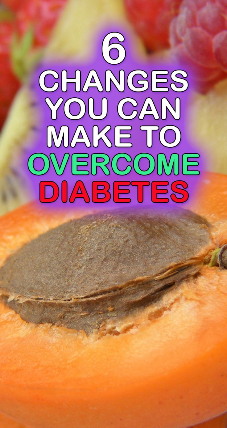 The information here pertains to Type 2 diabetes and pre diabetes. Here are the most significant changes you can make.