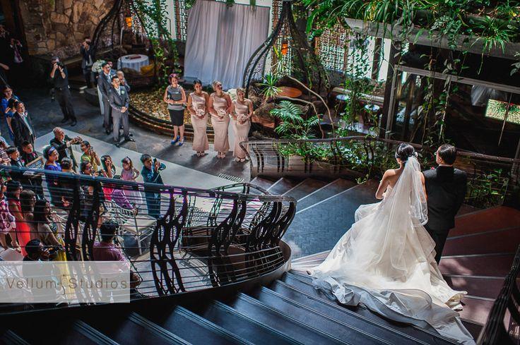 Cloudland Wedding Ceremony | Tran + Ut - Vellum Studios