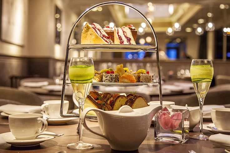 Japanese Afternoon Tea & Cocktails for 2 @ Salmontini, Belgravia