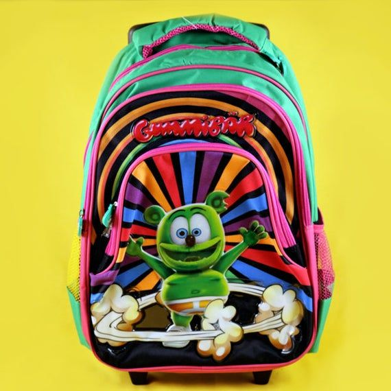 The Gummy Bear Rolling Backpack Gummibär