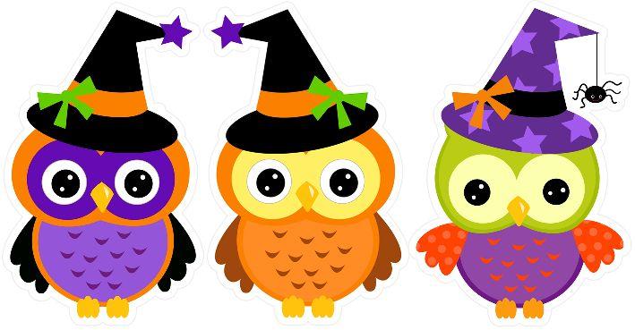Dibujos Bonitos De Colores: Dibujos Bonitos Para Halloween A Color