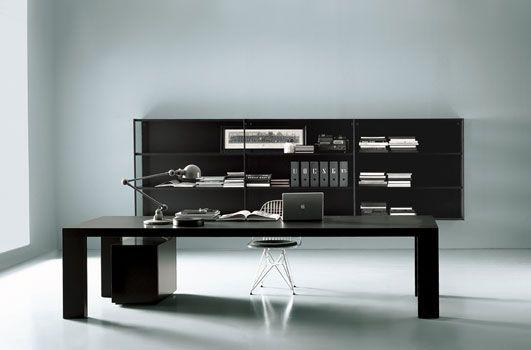 Minimalist desk/shelving