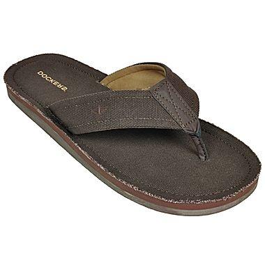 Dockers® Mens Canvas Flip Flops - jcpenney