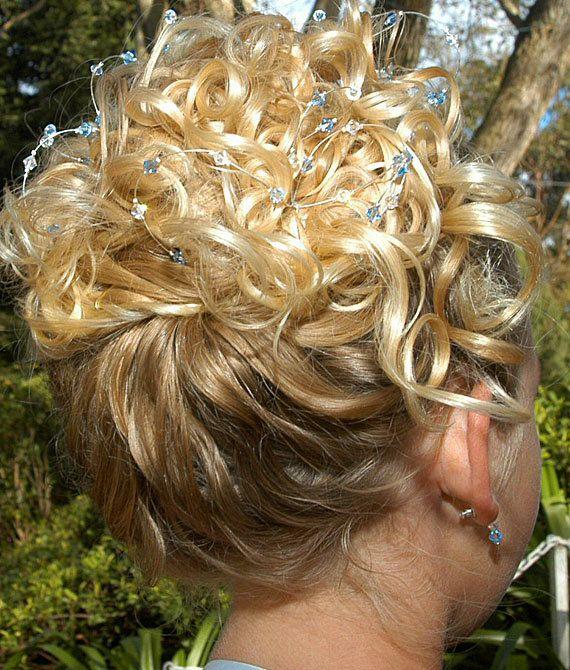 Hair Accessory Swarovski Crystal Tiara Hair by CherrywoodCrystal, $39.00