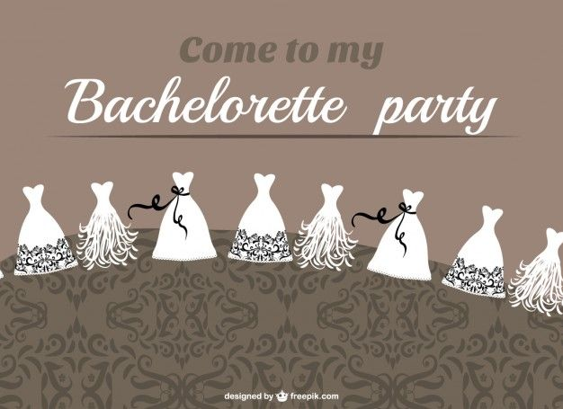 Bachelorette party vector