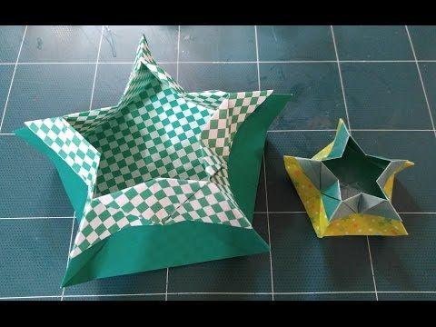 321.오각별상자접기.오월의장미.상자접기.origami.장어사냥꾼광명점 - YouTube