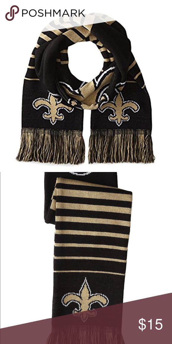 New Orleans saints scarf Show your team pride with this brand new unisex scarf. Great for gifting. Accessories Scarves & Wraps
