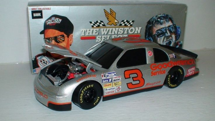 Dale Earnhardt 1995 Winston Cup 25 Years 1/24 Nascar Collectible #Action