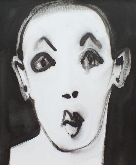 en face (50x60) by Majanne Beeuwkes