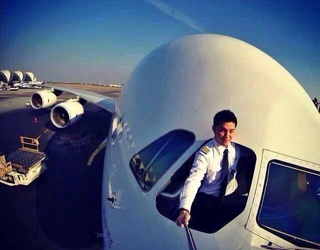 Селфи пилотов самолетов