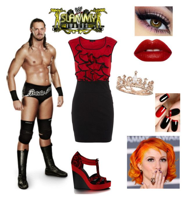 """""""Slammy Awards w/ Colin Cassady"""" by mrsromanreigns916 ❤ liked on Polyvore featuring Dorothy Perkins and Shoes of Prey"""