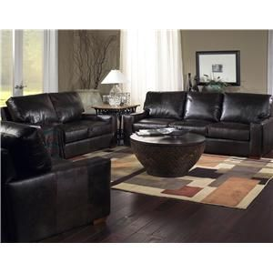 Brompton Living Room Chocolate Sofa