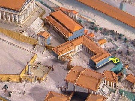 Ricostruzione Santuario di Artemide Brauronia.
