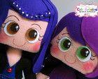 Bonecos Descendentes - Evie e Mal