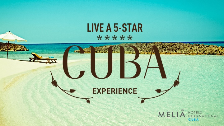 Like the Air Transat Facebook page and enter the contest for your chance to win one of 2 one-week all-inclusive trips for in a luxurious Paradisus hotel from Mélia International Hotels Cuba in Varadero.