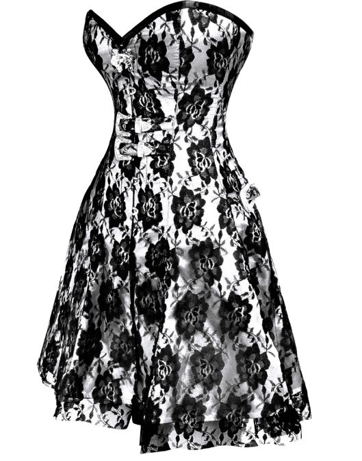 Gothic Corset Dress - When gothic fashion get's sexy!