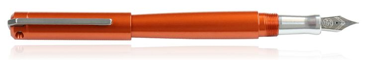 Karas Kustoms Ink Fountain Pens in orange