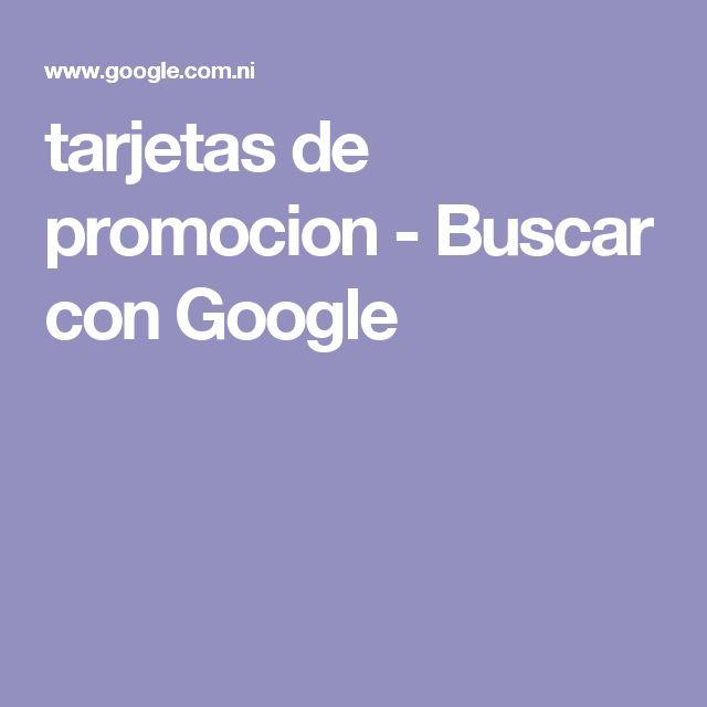tarjetas de promocion - Buscar con Google