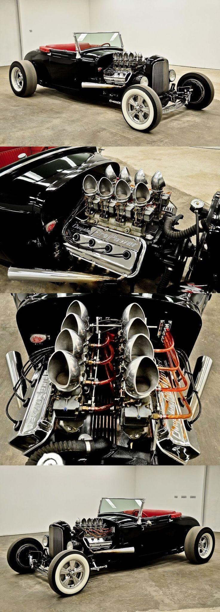 You will ❤ MACHINE Shop Café... (1932 Ford Old Skool Hot Rod) #hotrodclassiccars
