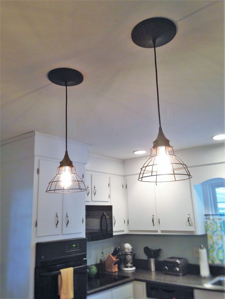 Best 25 recessed light conversion kit ideas on pinterest screw goodbye recessed lights pendant conversion kit for an easy update mozeypictures Choice Image