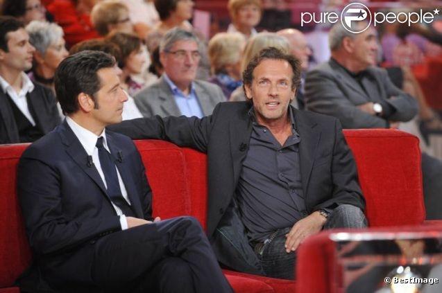 Laurent Gerra et Stéphane Freiss