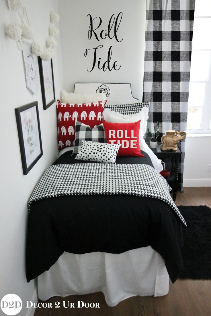 University of Alabama {UA} Crimson Roll Tide Designer Dorm Bedding Set