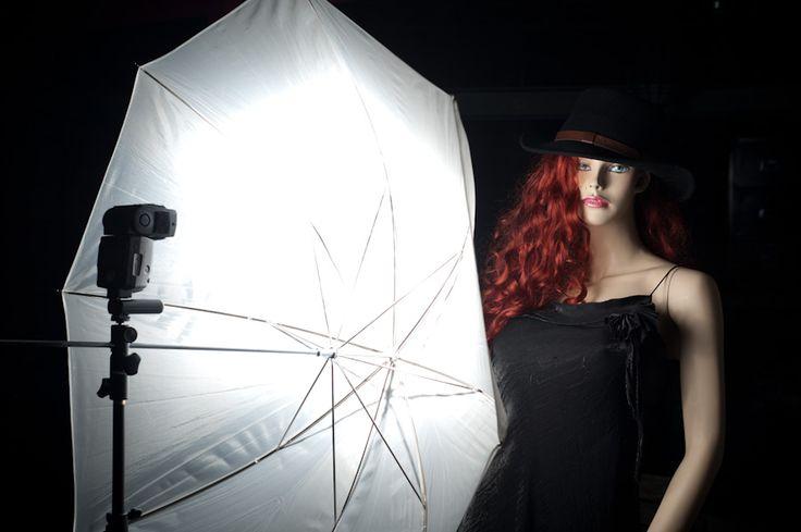 strobist-fotografie: Paraplu of Softbox?