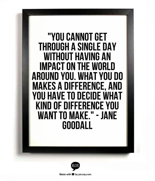 Jane Goodall Quotes: 122 Best Images About Volunteer Quotes On Pinterest