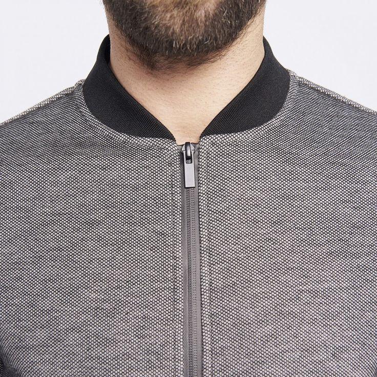 Sweat zippé homme casual - image 3