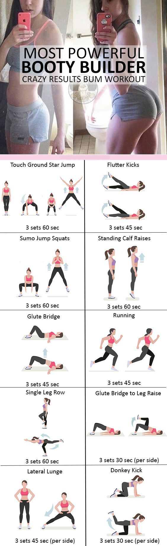 Most Powerful Booty Builder Crazy Results Bum Workout #weightloss #loseweight #weightlossworkout #buttworkout #booty #workout #Fitness #exercise https://www.youtube.com/watch?v=Q96gA6-kRZk