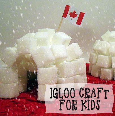 Igloo Craft For Kids #homeschooling #school #learning #educational #craft
