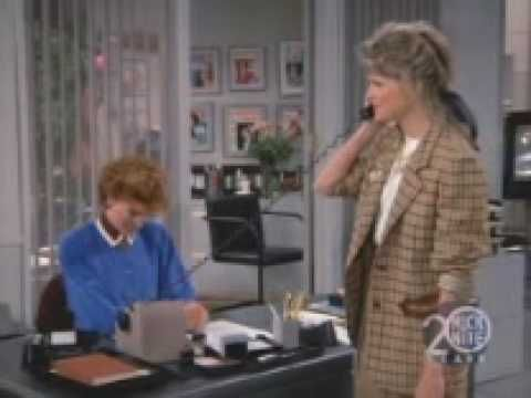 "Candace Bergan as ""Murphy Brown"""
