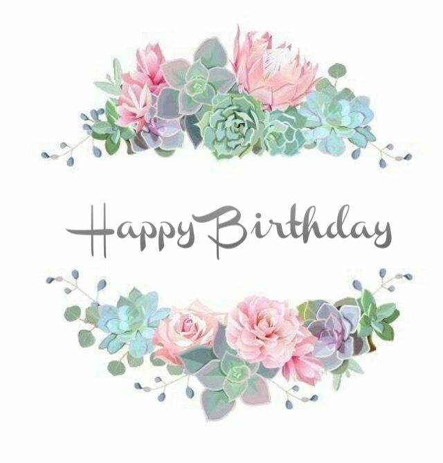 Happy Birthday Birthday Greetings Quotes Happy Birthday Floral