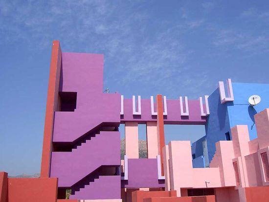 La Muralla Roja 1973, Calpe, Alicante, Spain