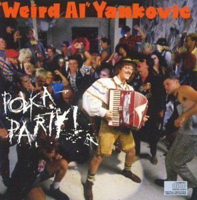 Polka party - #weird al #yankovic #(1991, cd new),  View more on the LINK…