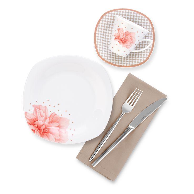Bernardo Soft Light Kahvaltı Takımı / Breakfast Set #bernardo #breakfasttime #kitchen #mutfak #tabledesign #flower